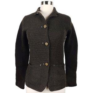 Customer Lovers Dark Brown Wool Blazer